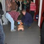 Einweisung in den Defibrillator